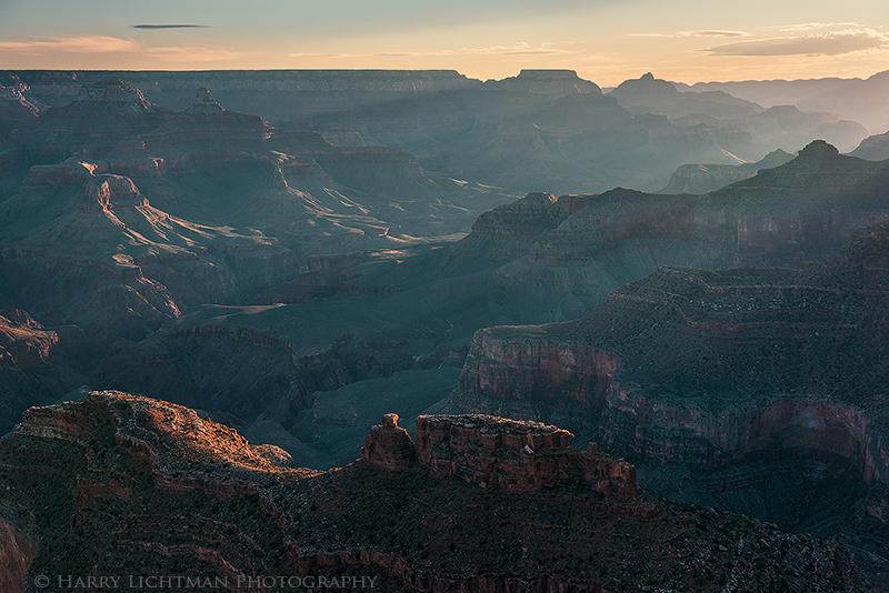 Sunrise Blues - Grand Canyon - South Rim
