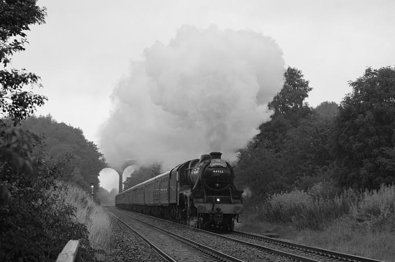 20.8.11 - LMS 5MT 44932 Carlisle - York 'Waverley', Newbiggin - Newbiggin
