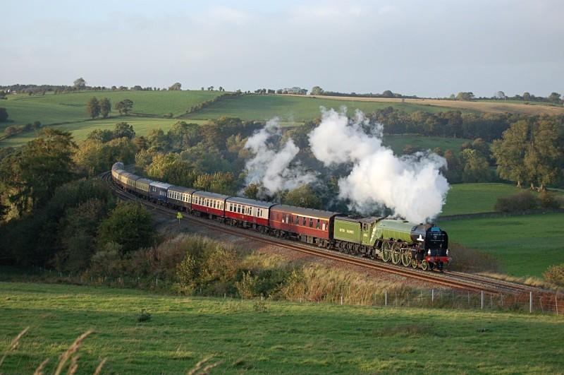 3.10.09 - LNER A1 Pacific 60153, Armathwaite - Armathwaite
