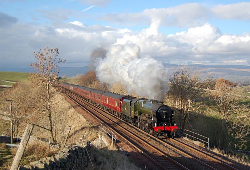 1.3.14 - LMS 46115 'Scots Gaurdsman' 1Z87 Carlisle - Euston, Bull Gill - Bull Gill