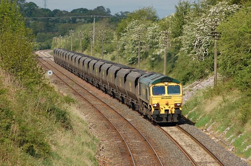 15.5.08 66520 6E73 Killoch - West Burton Cotehill - Cotehill