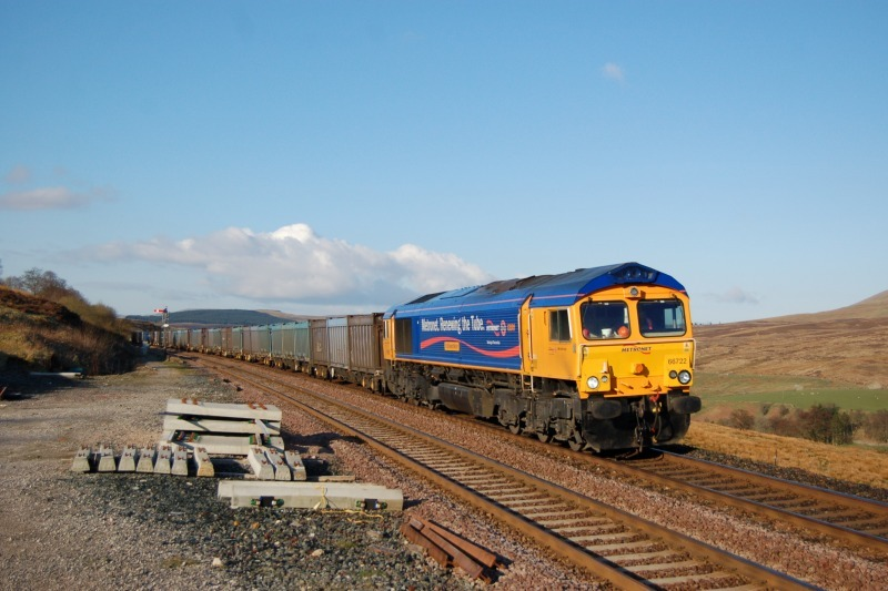 16.4.12 - 66722 4M20 Cottam - Kirkby Thore, Garsdale - Garsdale - South