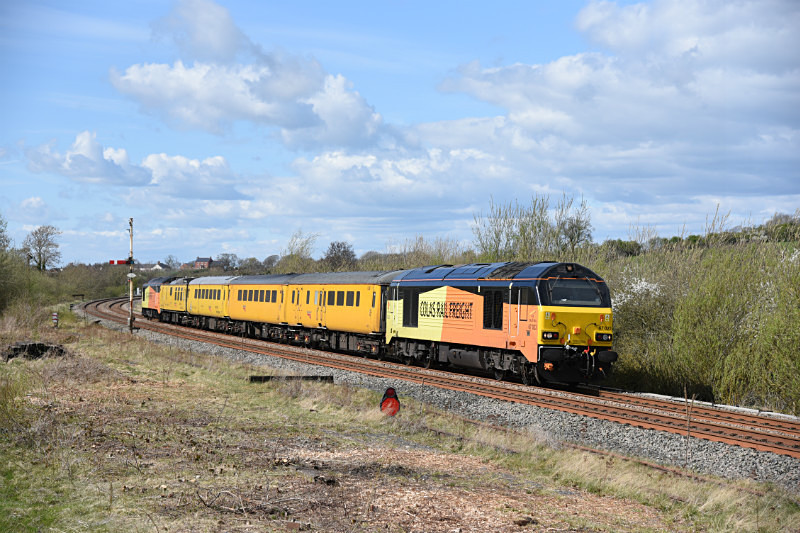 JL - 10.4.17 67023 & 67027 1Q36 Heaton - Derby, Howe & Co sidings - Howe & Co. sidings