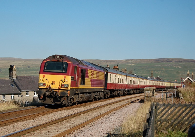 15.10.11 - 67017 1Z59 Kings Cross - Carlisle, Garsdale - Garsdale