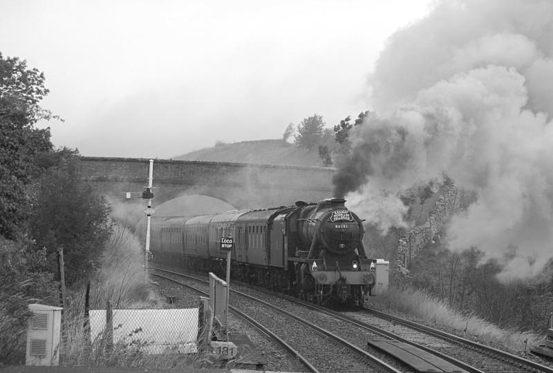 10.8.11 - LMS 8F 48151 Carlisle - Lancaster 'Fellsman' Kirkby Stephen - Kirkby Stephen