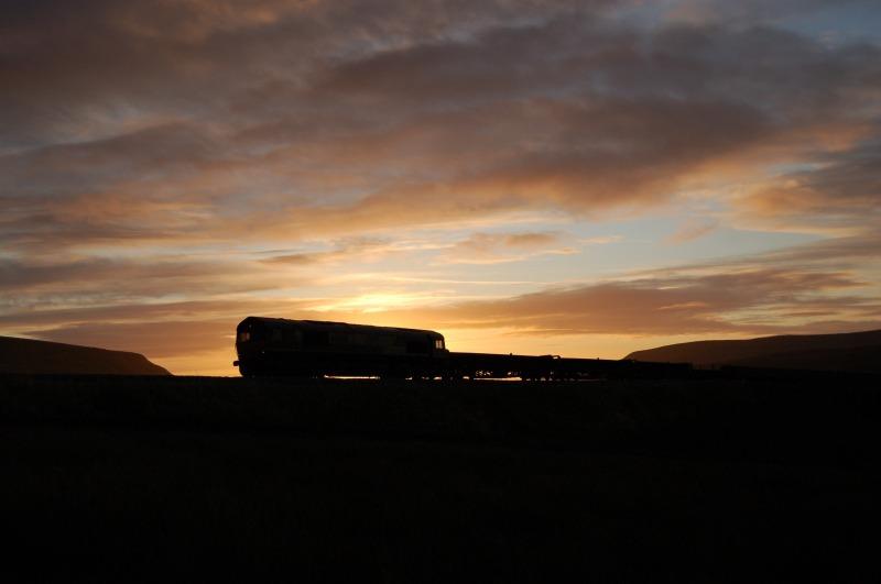 19.10.11 - 66016 6L92 Blackburn Old Junc - Carlisle, Lunds - Lunds - Northbound
