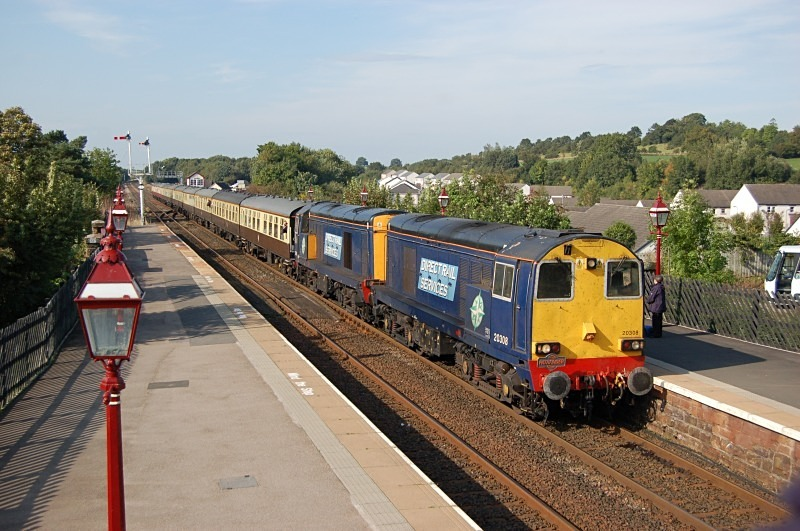 30.9.13 - 20308 & 20309 1Z48 Dumbarton - Crewe, Appleby - Appleby