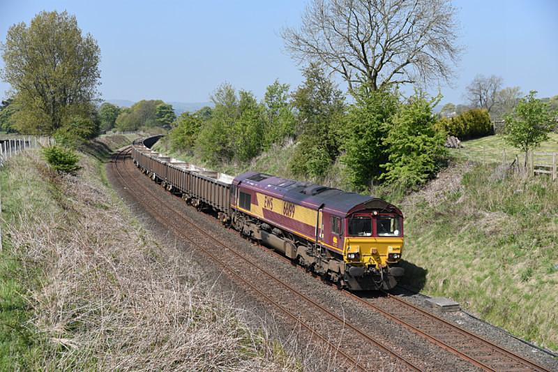 JL - 11.5.17 66199 6E95 Kirkby Thore - Hull, Long Preston - Long Preston