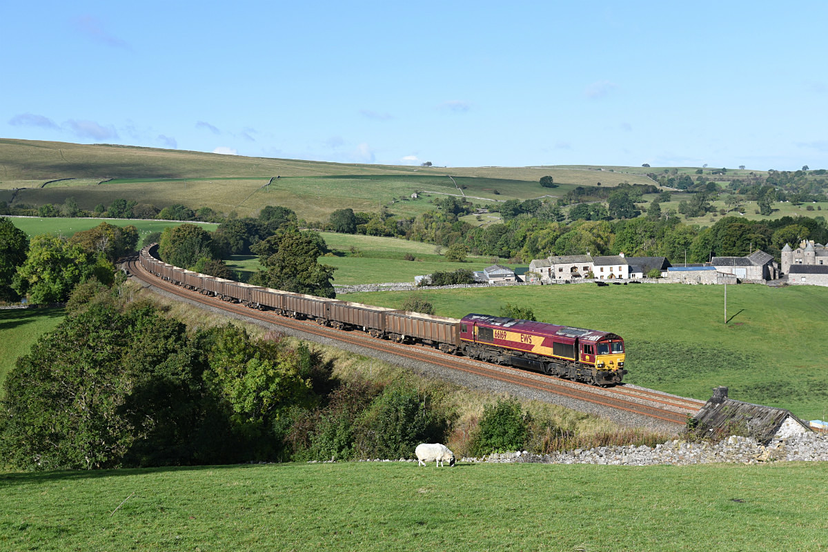 JL - 5.10.17 66169 6E95 Kikrby Thore - Hull CT, Smardale - Smardale