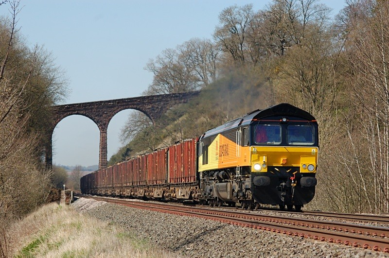 14.4.10 - 66843 6J37 Carlisle - Chirk, Newbiggin - Newbiggin