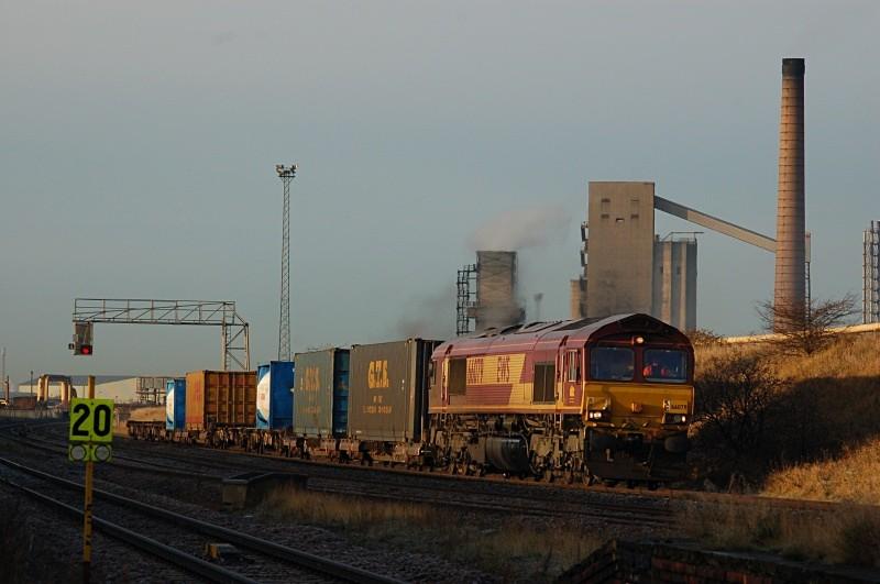 1.12.09 - 66079 6N33 Tyne Yard - Tees Dock, Grangetown - Teesside