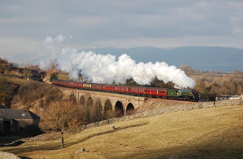 2.3.13 - LNER A4 No. 60009 1Z88 Carlisle - Euston CME, Crosby Garrett - Crosby Garret