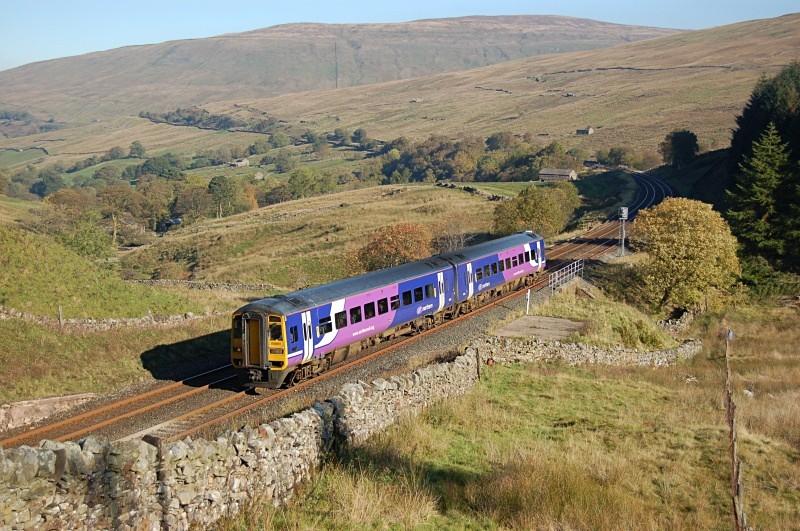 11.10.10 - Unidentified 158 08.53 Carlisle - Leeds, Blea Moor Tunnel - Blea Moor Tunnel
