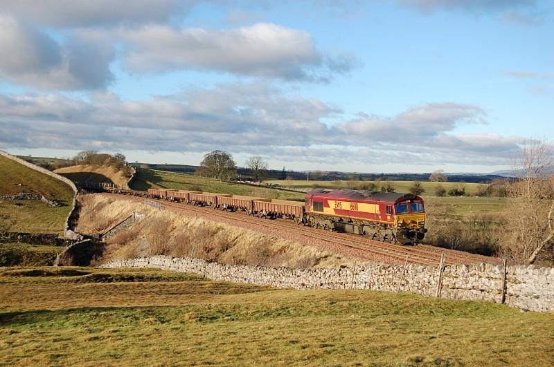 11.11.11 - 66118 6K05 Carlisle - Crewe, Waitby - Waitby