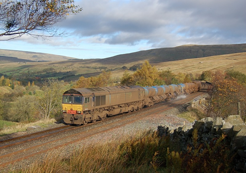 24.10.13 - 66430 & 66424 3J11 Carlisle - Carlisle, Dent Head - Dent Head