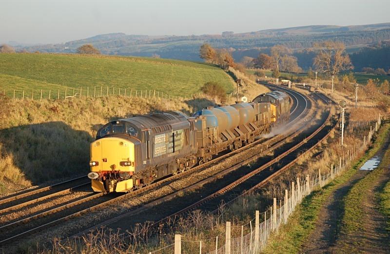 4.11.12 - 36602 & 37609 3S77 Tursdale Jun - Carlisle RHTT, Whitchester - Tyne Valley