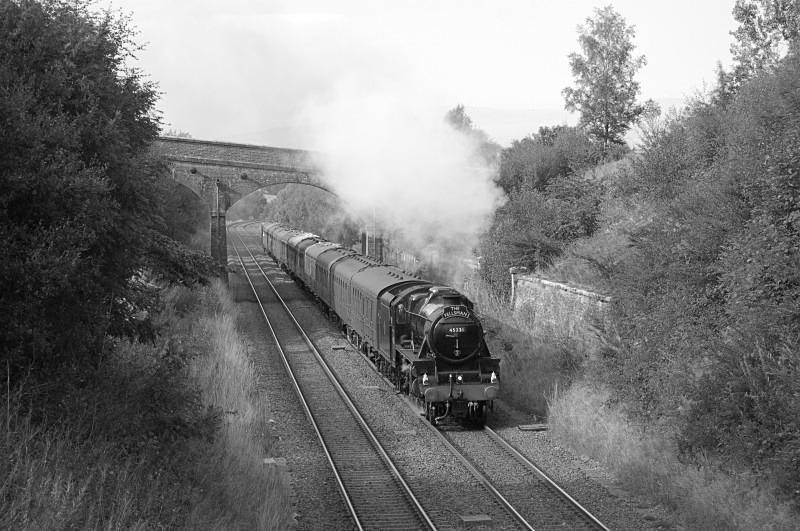 27.8.13 - LMS 'Black 5' No. 45231 1Z52 Carlisle - Lancaster, Crosby G - Crosby Garret