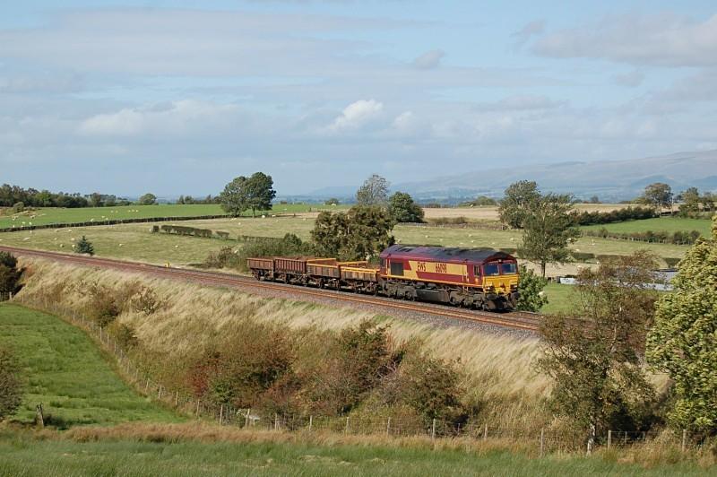 23.9.09 - 66098 6K05 Carlisle - Crewe, Stockber - Stockber