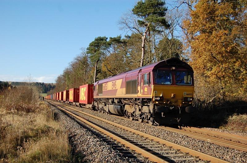 10.11.12 - 66053 6E62 Carlisle Yard - Tees Dock, Cross Bank - Tyne Valley