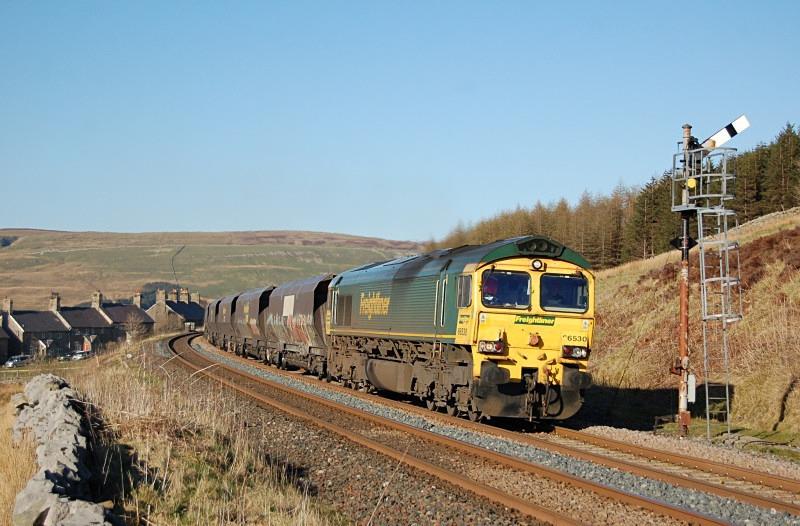 18.4.14 - 66530 6M21 Hunterston - Ratcliffe, Garsdale - Garsdale - South