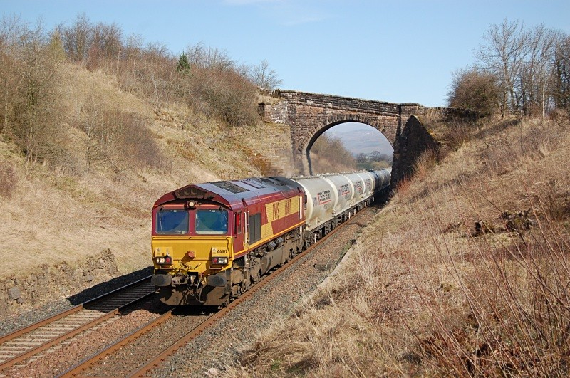14.4.10 66107 6M00 Mossend - Clitheroe, Soulby Road Bridge - Soulby Road Bridge