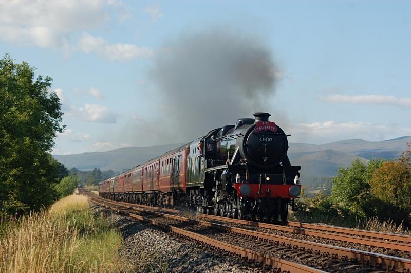 24.7.11 LMS 5MT No. 45407 Carlisle - York 'Waverley', Ormside - Ormside