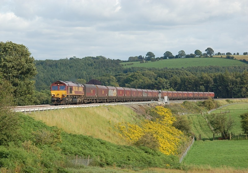5.8.11 66034 4S93 Milford - New Cumnock, Lazonby - Eden Lacy House