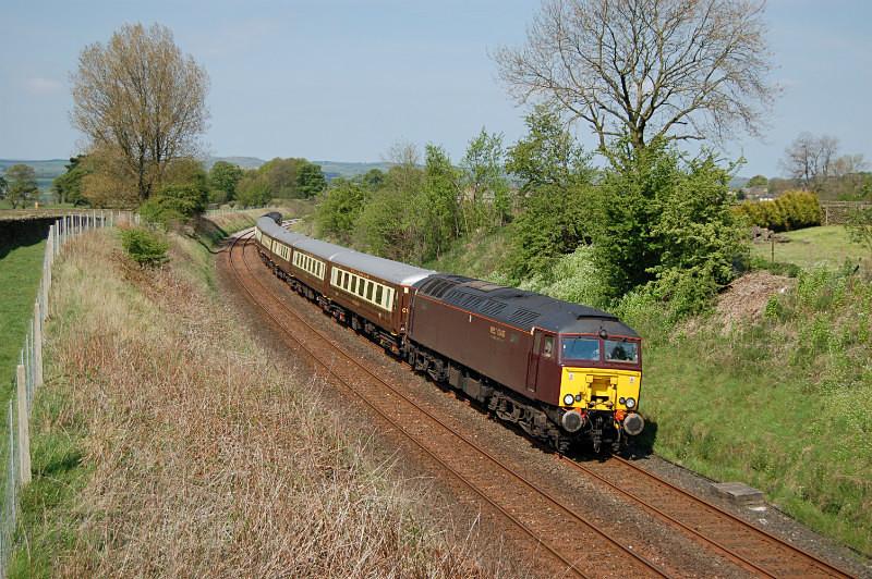 JL - 13.5.16 57316 5Z78N Carnforth - Hitchin, Long Preston - Long Preston