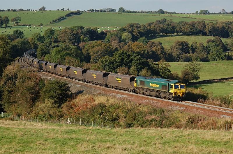17.10.07 66553 6M32 Greenburn - Ratcliffe, Armathwaite - Armathwaite