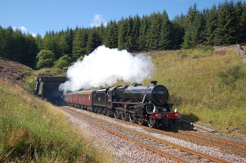 22.8.11 - LMS 5MT 45305 Liverpool - Carlisle, Blea Moor Tunnel - Blea Moor Tunnel
