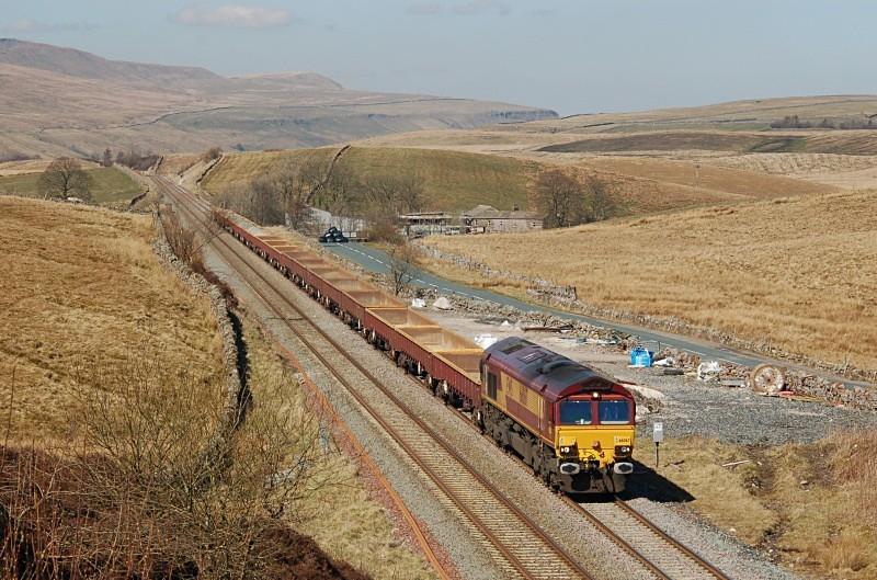 2.4.09 66067 6K05 Carlisle - Crewe, Shotlock Hill - Shotlock Hill