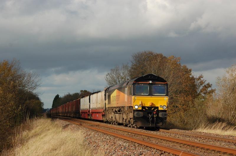 28.10.11 - 66848 6J37 Carlisle - Chirk, Griseburn - Griseburn