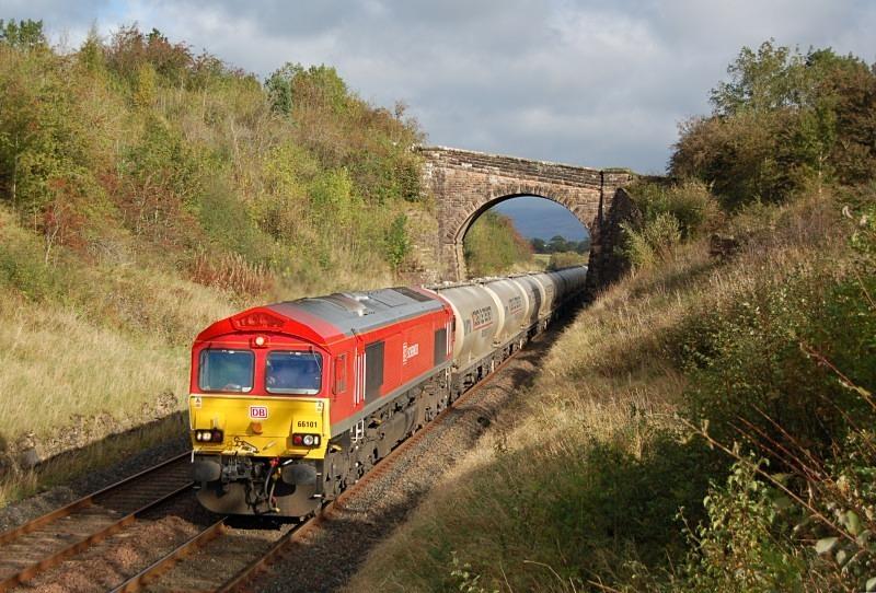 7.10.11 - 66101 6M00 Mossend - Clitheroe, Soulby Rd Bridge - Soulby Road Bridge