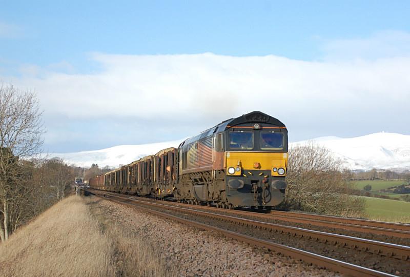 JL 31.1.15 66849 'Wylam Dilly' 6J37 Carlisle - Chirk, Ormside - Ormside