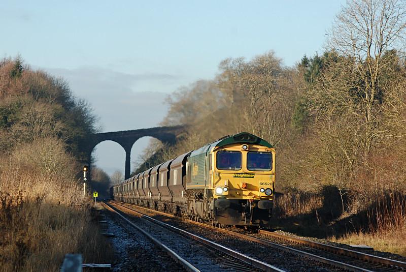 JL 4.1.15 - 66620 6E69 Carlisle Yard - Stourton, Newbiggin - Newbiggin