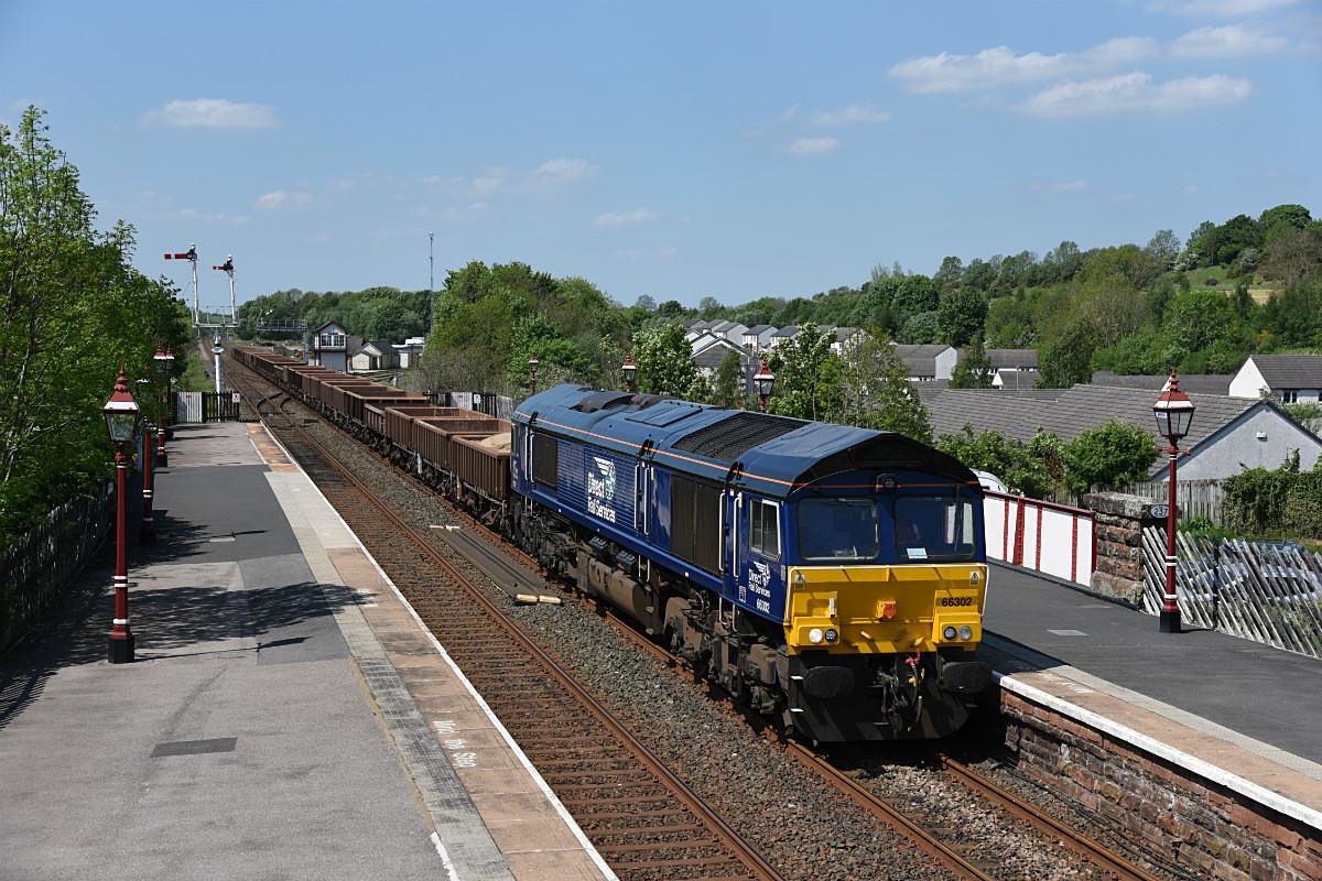 JL - 26.5.17 66302 6K05 Carlisle - Crewe Appleby - Appleby