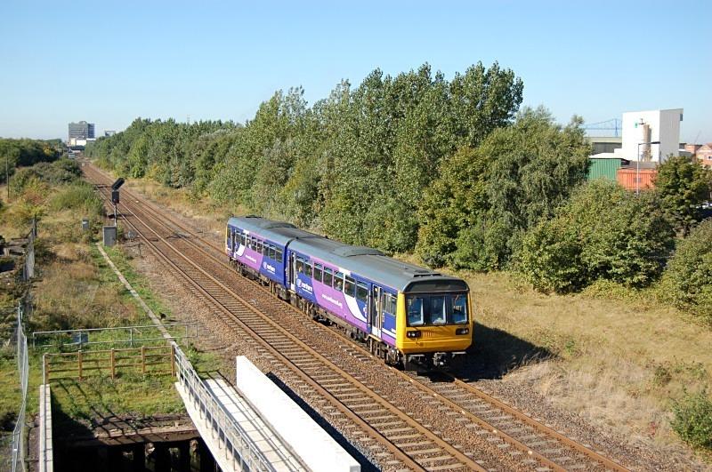 23.9.13 - 142090 09.46 Hexham - Nunthorpe, Cargo Fleet - Teesside