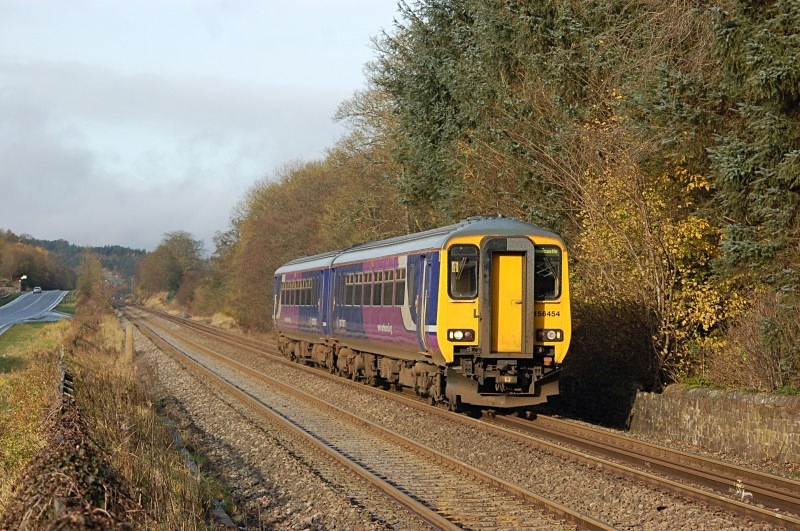 11.11.12 - 156454 10.05 Carlisle - Newcastle, Hole House - Tyne Valley