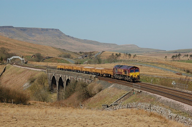 JL - 8.4.11 66250 6K05 Carlisle - Crewe Lunds - Lunds - Southbound