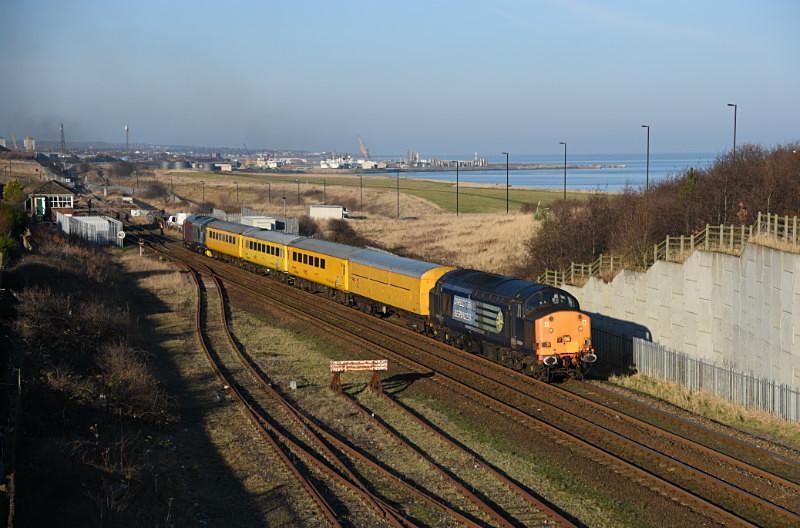 JL - 23.1.17 37604 & 37608 1Q05 Derby RTC- Tees Yard, Ryhope Grange - Elsewhere on the network