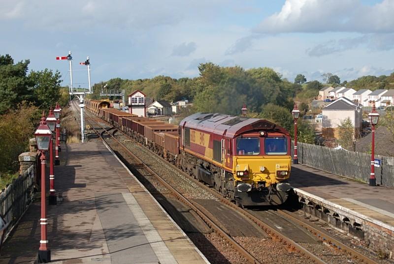 6.10.10 - 66035 6K05 Carlisle - Crewe, Appleby - Appleby