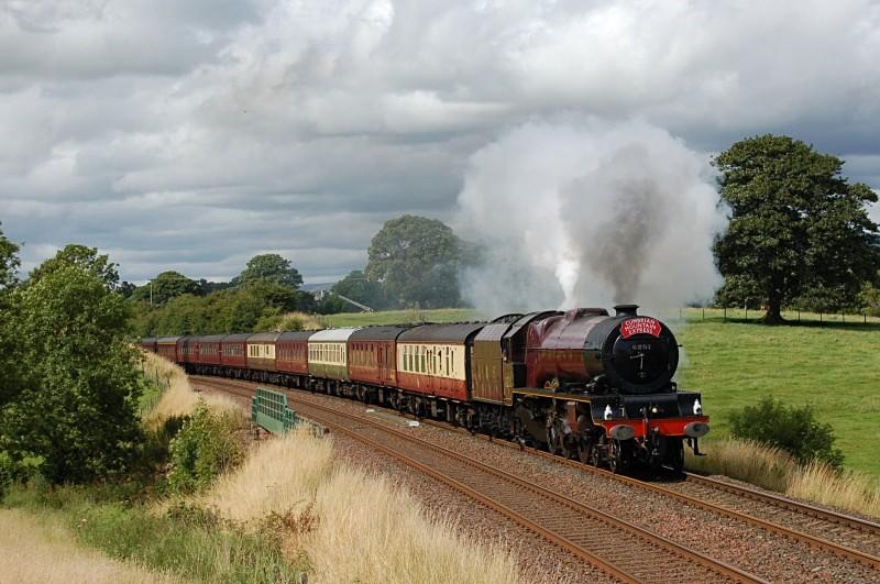 1.8.09 - LMS Princess 6201 Carlisle - Liverpool, Appleby - Appleby - Causey Brow
