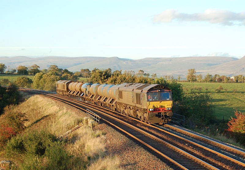 17.10.13 - 66430 & 66424 3J11 Carlisle - Carlisle RHTT, Gallansay - Gallansay
