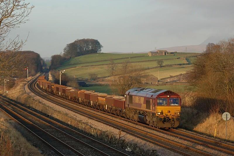 10.12.09 66201 6K05 Carlisle - Crewe, Settle Junction - Settle Junction