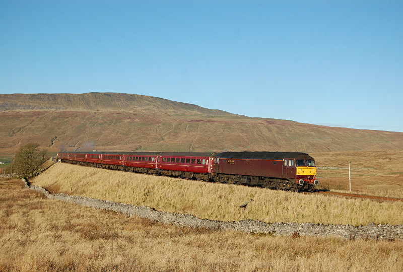 3.12.14 - 47804 1Z50 Buxton - Edinburgh, Ribblehead - Ribblehead