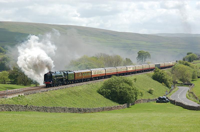 19.5.11 BR 8P Pacific 71000 'Duke of Gloucester', CME, Horton - Horton