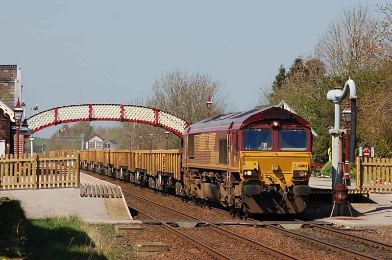 20.4.10 - 66104 6K05 Carlisle - Crewe, Appleby - Appleby