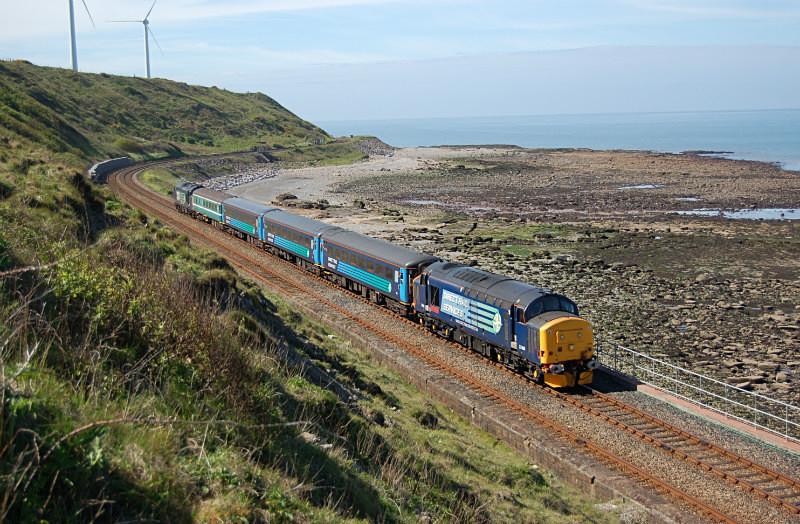 JL 23.5.15 37409 2C41 08.45 Barrow - Carlisle, Catt Gill - Cumbrian Coast
