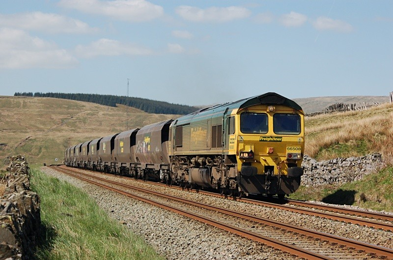 27.4.11 66508 6Z68 Killoch - Drax, Dentdale - Dentdale