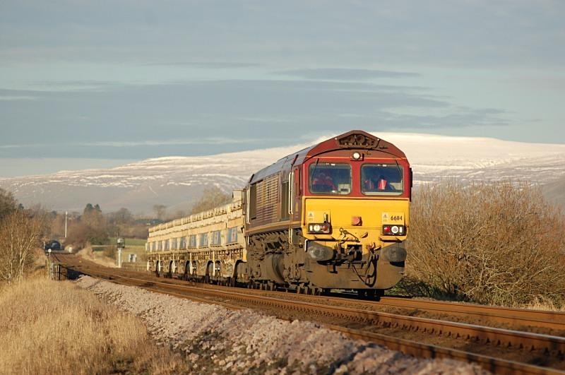 13.12.12 - 66114 6K05 Carlisle - Crewe, Ormside - Ormside